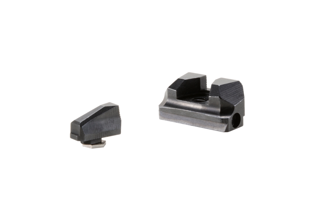 Picture of PDP BLACK SERRATED RMR HEIGHT BACK-UP SIGHTS
